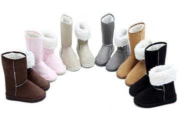דיל מיוחד לחורף! מגפיים אופנתיות חמות ונוחות במיוחד לנשים ב6...