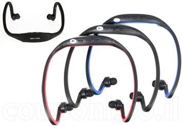 נמאס מהחוטים? אוזניות ספורט עם נגן MP3 מובנה אלחוטיות המתאימות לכל פעילות ספורטיבית ב48 ש