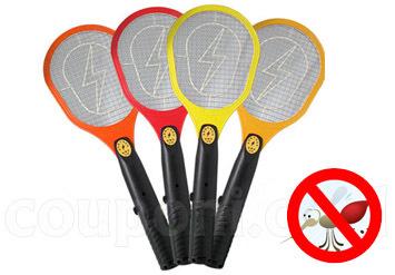 תגידו שלום לכל המעופפים! מחבט יתושים חשמלי קוטל חרקים ומעופפ...