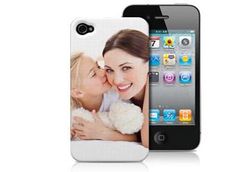 כיסויי לאייפון עם הדפס בעיצוב אישי הכולל תמונה + טקסט רק ב-4...
