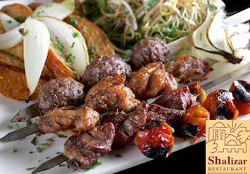 מסעדת שליזרמציעה ארוחת שיפודים+סלטים+פסטלים+תוספות+שתי...
