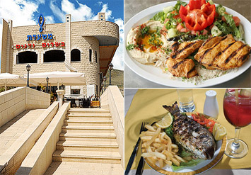 דיל למסעדת בשרים ודגים! ארוחה מפנקת הכוללת 2 שיפודים לבחירה ...