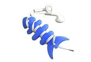 נמאס לכם שהחוטים של האוזניות מסתבכים לכם? דג סיליקון שישמור ...