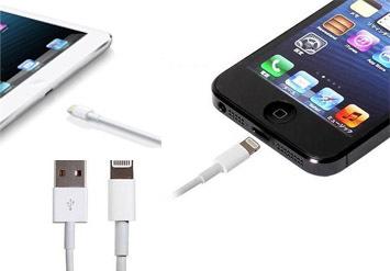 כבל הטענה USB לאייפוןולמכשירי אפל בעלי חיבור Lightningב14 ש