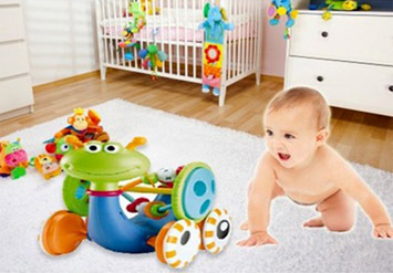 מעודד זחילה מוזיקלי - צעצוע התפתחותי מצוין לילד באישור מכון ...
