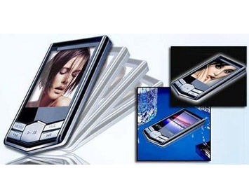 נגן MP4 מתקדם ביותר, דק במיוחד לניגון שירים, וידאו ורדיו, כולל 8GB מובנה, רק ב99 ₪