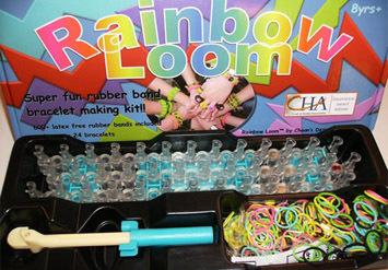 ערכת יצירה לצמידים ממגוון גומיות צבעוניות Rainbow Loom החל מ...