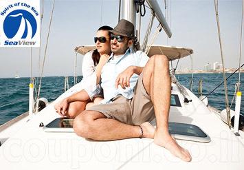 חוויה רומנטית שלא תשכחו לעולם! הפלגה VIP זוגית ביאכטה מפוארת...