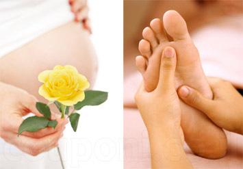 טיפול רפלקסולוגיה באורך 50 דקות לנשים בהריון בעלות של 99 ש