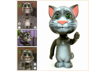 צעצוע מטריף מדבר ומחקה, יצחיק אתכם עד דמעות! טום קט החתול מה...