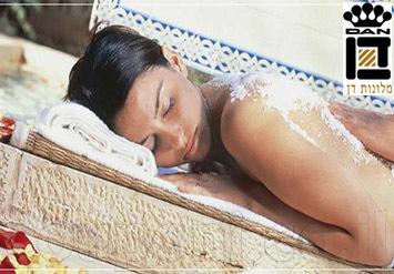 פינוק במלון דן ירושלים! ארוחת בוקר עשירה + עיסוי ארומטי מפנק+ שימוש חופשי במגוון הרחב של מתקני הספא ב299 ש
