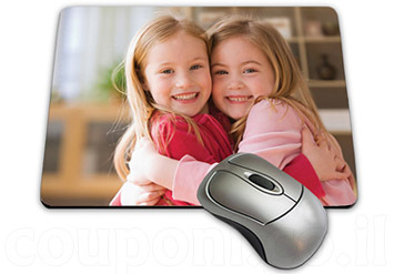 משטח / פד לעכבר בעיצוב אישי עם הדפסת תמונה אישיתוטקסט הקדשה לבחירה ב-29 ש