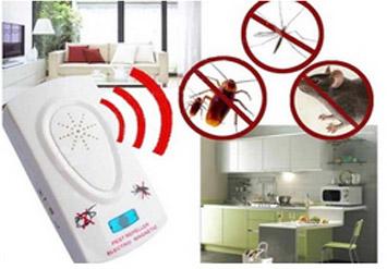 מיוחד לקיץ! מתקן מרחיק יתושים, חרקים ומטרידים באמצעות טכנולוגיה על-קולית ב49 ש