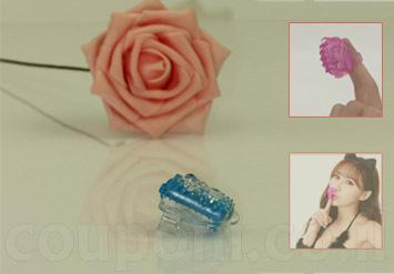 אצבעון מסאג'ר / ויברטור בעל רטט עם הלבשה לאצבע, עשוי סיליקון...