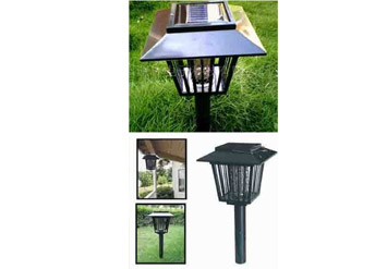 קוטל חרקים, מזיקים ויתושים סולארי לגינה ולבית רק ב79 ש