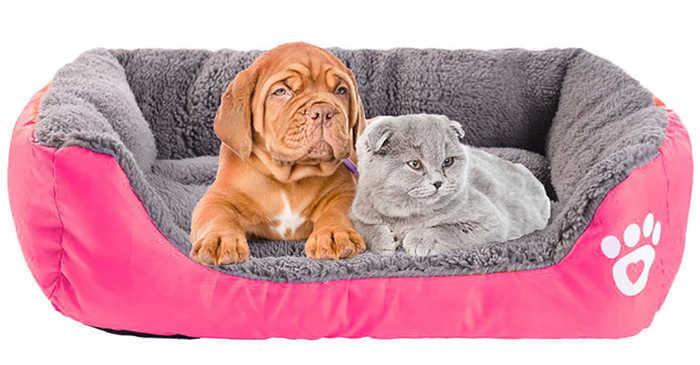 מיטה רכה, איכותית ומפנקת לכלב או לחתול במבחר גדלים וצבעים הח...
