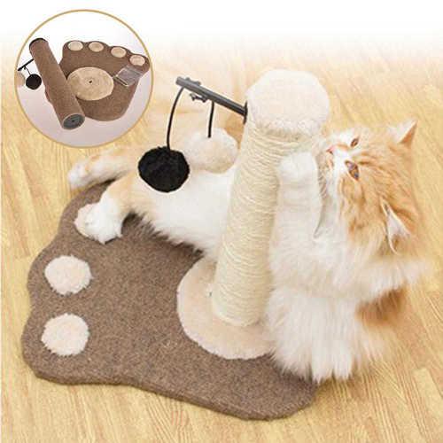 עמוד גירוד לחתול שיאפשרו לו לשחק ולשייף את הציפורניים ב129 ש...