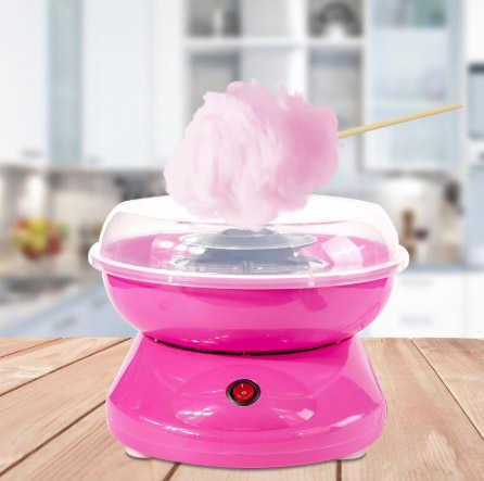 מכונת סוכר! מכשיר ביתי להכנת צמר גפן מתוק