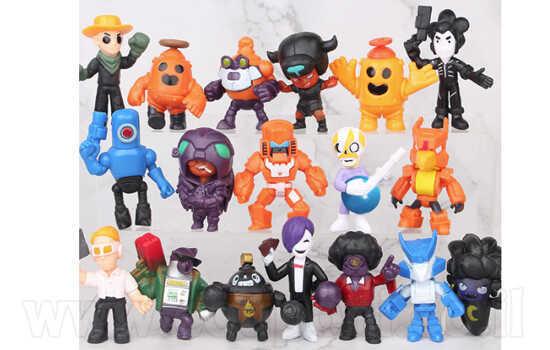 מבחר סטים של בובות בראול סטארס! החל מ49 ש