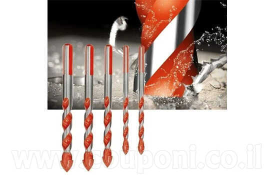סט 4 מקדחים - מקדחי יהלום אולטימטיב...