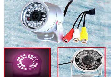מצלמת אבטחה לבית או לעסק, כוללת הקלטת קול, ראיית לילה, חסינת...