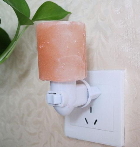 מנורת מלח הימלאיה מוארת לשיפור הנשימה, איכות השינה, האוויר ו...