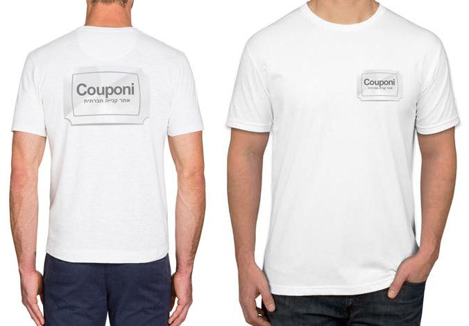 מצוין לעסק! 5 חולצות דרייפיט ממותגות לבעלי עסקים! כולל הדפסה 2 צדדים קדמי ואחורי ב129 ש