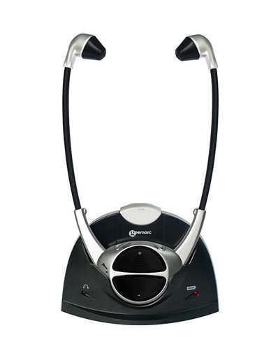 אוזניות אלחוטיות המאפשרות לכם לשמוע טלוויזיה באופן ברור ובעוצמה מותאמת ב399 ש