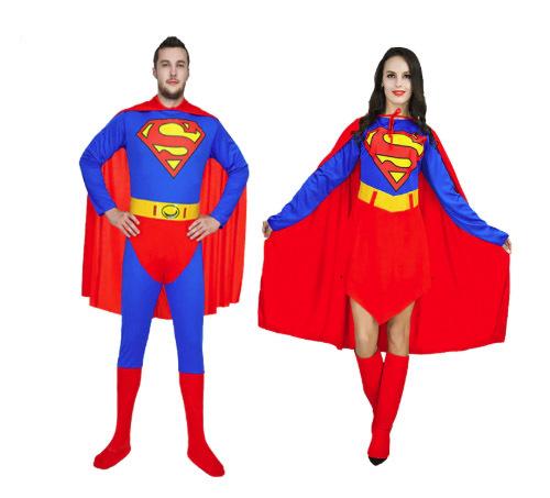 תחפושת סופרמן / סופרוומן למבוגרים ב129 ש