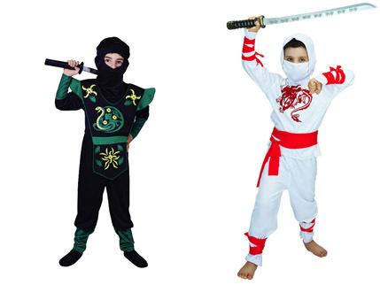 תחפושת נינג'ה סמוראי לילדים ב129 ש