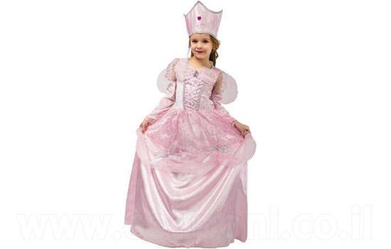 תחפושת נסיכה פיה ורודה לילדות ב149 ...