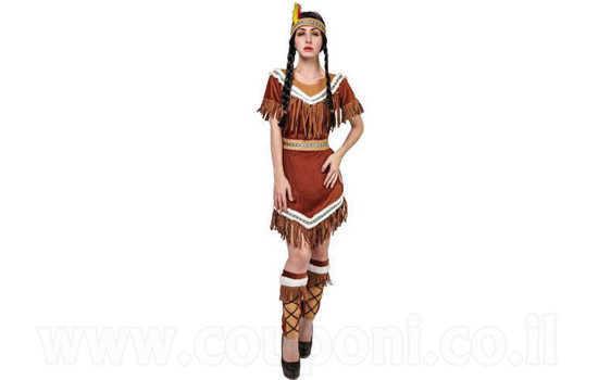 תחפושת אינדיאנית לנשים ב129 ש