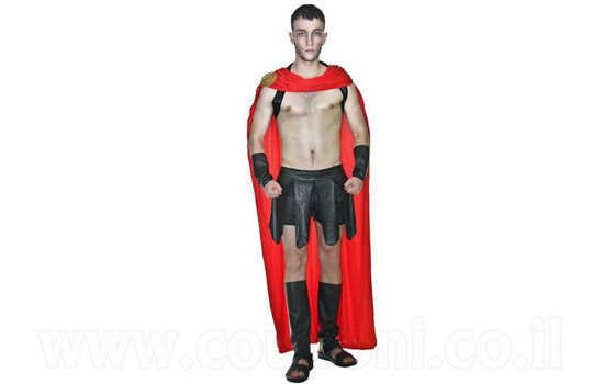 תחפושת לוחם ספרטני למבוגרים ב129 ש