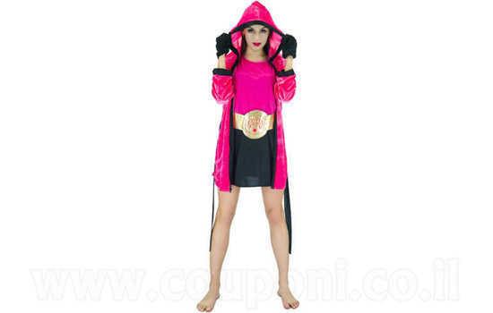 תחפושת מתאגרפת לנשים ב129 ש