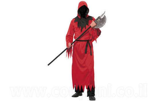 תחפושת שד / מלאך המוות אדום למבוגרי...