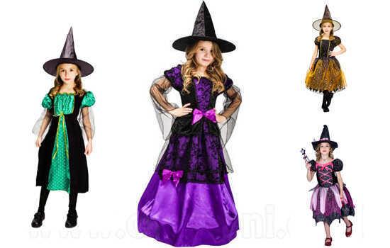תחפושת קוסמת / מכשפה לילדות ב129 ש
