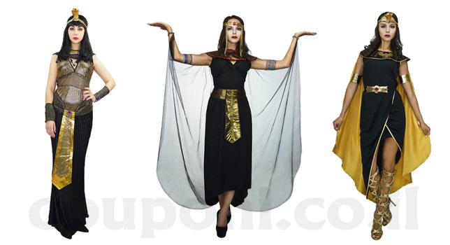 תחפושת קלאופטרה מלכת מצרים למבוגרים ב149 ש