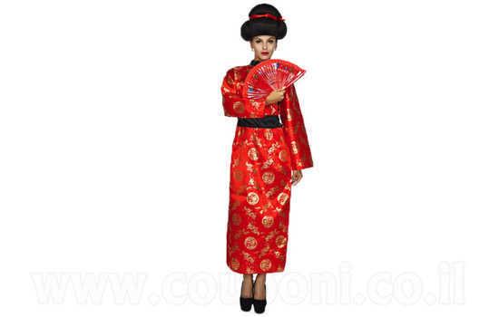 תחפושת גיישה יפנית לנשים ב129 ש