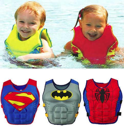 מצוף וסט לשחייה בטיחותית וללמוד לשחות לבנים ולבנות עם מגוון הדמויות המוכרות והאהובות ב89 ש