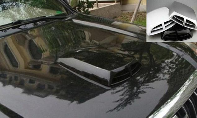 כונס אוויר כפול לרכב דקורטיבי ויפה, מתאים לכל סוגי הרכבים וב...